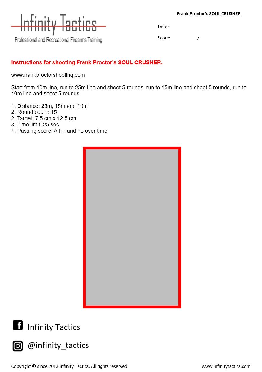 photo regarding Printable Firearm Log identify DRILLS - WELCOME